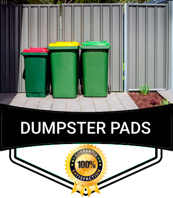 Dumpster Pads Cleaning