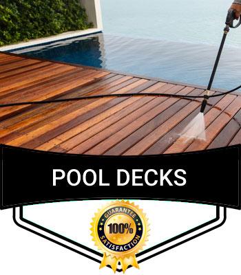 Pool Decks Cleaning