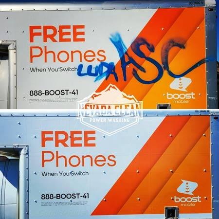 commercial graffiti removal